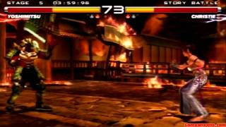 Tekken 5 - Story Battle - Yoshimitsu Playthrough
