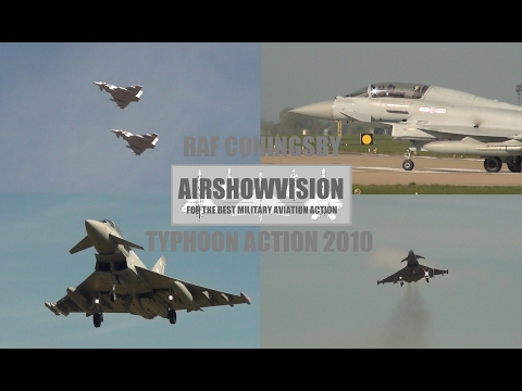 RAF CONINGSBY EF2000 TYPHOON ACTION 2010 (airshowvision)