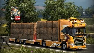 getlinkyoutube.com-[ETS2 v1.22] Scania Lupal + Trailer + V8 Sound