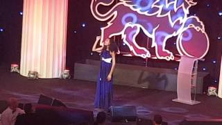 Jasmine performance St James's Place Charity Gala at The Grosvenor width=