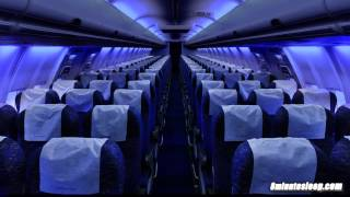 getlinkyoutube.com-Airplane Cabin White Noise Jet Sounds | Great for Sleeping, Studying, Reading & Homework | 10 Hours