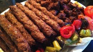 getlinkyoutube.com-طريقة شهية وسهلة لعمل المشاوي الشامية - كباب وقطع اللحم