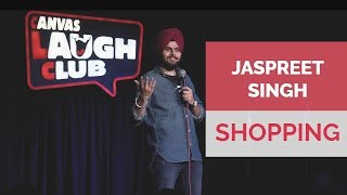 Shopping With Wife | Jaspreet Singh Stand Up Comedy