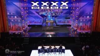 Pesulap Demian Aditya bikin heboh panggung america's Got Talent 2017