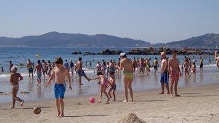 Samil beach - Vigo, Spain