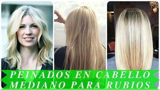 getlinkyoutube.com-Peinados en cabello mediano para rubios