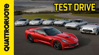 Chevrolet Corvette Stingray Test Drive - Prova su pista