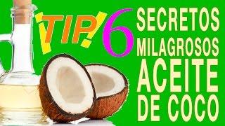 Seis Secretos de Belleza con Aceite de Coco