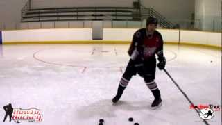 getlinkyoutube.com-3 Easy ways to Improve Your Shot Power - How To Hockey