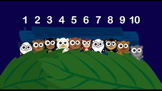 getlinkyoutube.com-Learn to Count - Ten In The Bed Song for Children