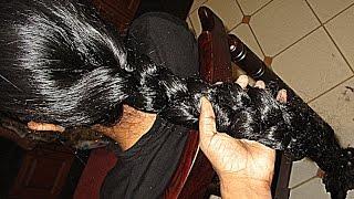 getlinkyoutube.com-Hair Donation - 20 inches Thick Braid