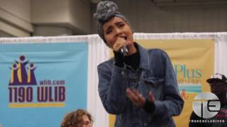 getlinkyoutube.com-Yuna Takes The Stage at 'Circle of Sisters' Expo in NYC