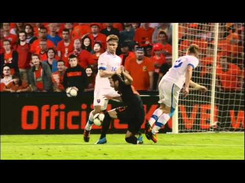 Highlights Netherlands - Slovakia (2-0) - friendly 30/5/2012