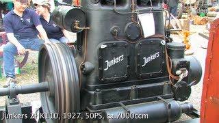 getlinkyoutube.com-Stationärmotoren beim Bulldog Dampf & Diesel - 3/3 - Stationary Engine Rally