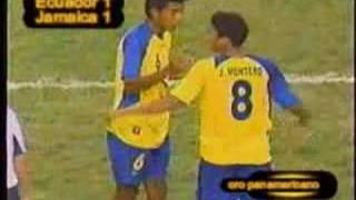 ECUADOR PRIMER ORO EN FUTBOL PANAMERICANO BRASIL