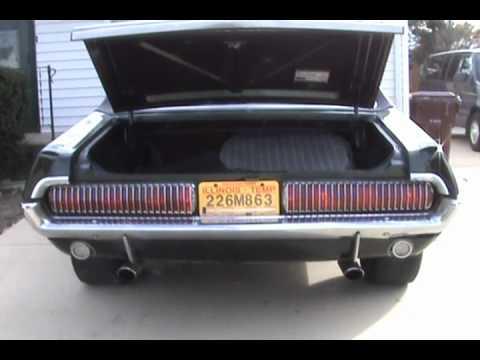 1968 Mercury Cougar LED Taillight Comparison.wmv