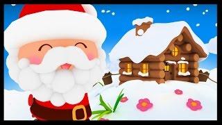 getlinkyoutube.com-L'as-tu vu le petit bonhomme - Chansons de Noël et comptines avec le Papa Noël - Titounis