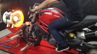 getlinkyoutube.com-Termignoni Ducati monster 796 on Dyno