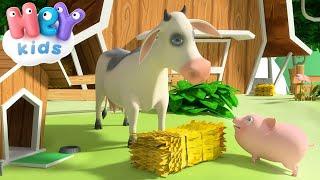 getlinkyoutube.com-La Mucca Lola - Canzoni per Bambini con Animali