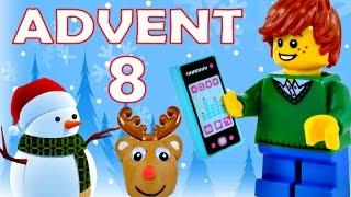 getlinkyoutube.com-Toy Advent Calendar Day 8 - - Shopkins LEGO Friends Play Doh Minions My Little Pony Disney Princess