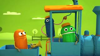 """getlinkyoutube.com-""""Working on the Railroad"""" Classic Songs by StoryBots"""