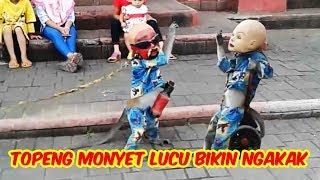 topeng monyet lucu TERBARU, Jakarta Monkey Tour