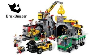 getlinkyoutube.com-Lego City 4204 The Mine - Lego Speed Build