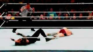 Daniel Bryan VS Roman Reigns Fastlane 2015 Highlights