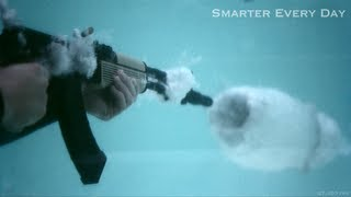 AK-47 Underwater at 27,450 frames per second (Part 2) - Smarter Every Day 97