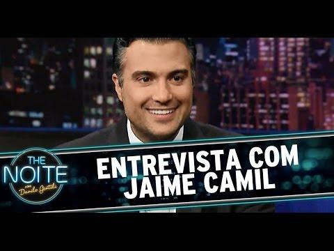 The Noite 12/06/14 (parte 1) - Entrevista Jaime Camil