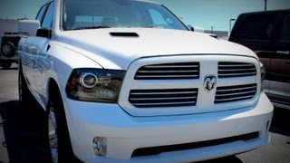 getlinkyoutube.com-Interior of 2013 RAM 1500 SPORT CREW CAB