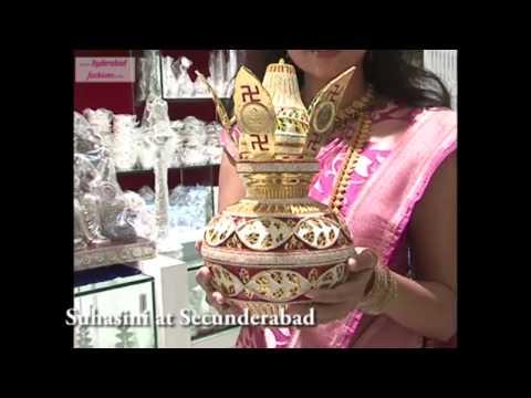 CMR Shopping Mall,'Vivaha' Wedding collections Inaugurated by Actress Suhasini at Secunderabad