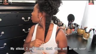 getlinkyoutube.com-370| 3 Year Natural Length Check!