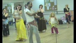 getlinkyoutube.com-ASI HASKAL   BELLY DANCE WORKSHOP 9