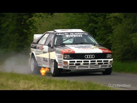 Eifel Rallye Festival 2012 | Historic Rallying | Legendary cars [HD]