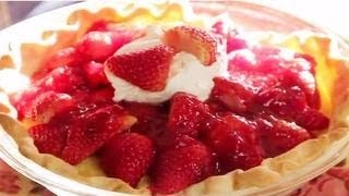 getlinkyoutube.com-Strawberry Pie Recipe