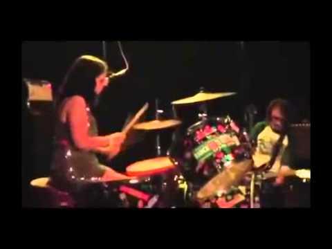 HOT HANDS  amazing female drummer  LIVE ROCK! [HD] 2015