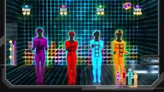 getlinkyoutube.com-Just Dance 2015: Tetris ( 4 Players 5 Stars Trophy )