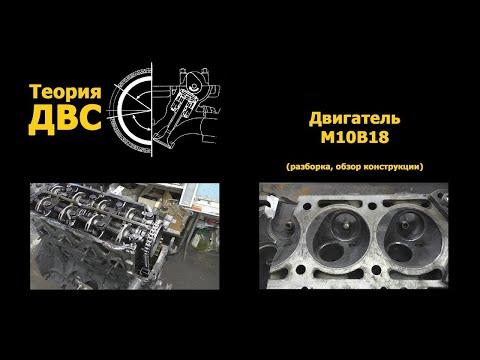 BMW Двигатель M10B18 (разборка, обзор конструкции)