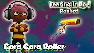 getlinkyoutube.com-Splatoon Multiplayer - Tearing It Up W/ Coro Coro Roller (DUDE the Supporter!)