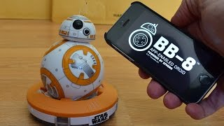 getlinkyoutube.com-Sphero Star Wars The Force Awakens BB-8 App-Enabled Droid Review