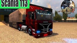 getlinkyoutube.com-ETS2 - MOD Scania 113 + Ronco e Xenon V1.21 ► Logitech G27