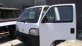 getlinkyoutube.com-農道のポルシェ ホンダ アクティ 衝動買いしてしまったw 軽トラ 作業車 Kei Truck