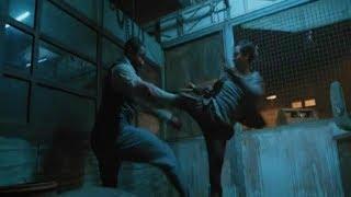 Skin Trade (2015) Tony Jaa vs Michael Jai White width=