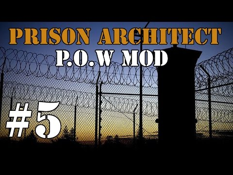 Prison Architect Modded - Big Expansion! #5