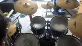 getlinkyoutube.com-Talking to the Moon ! Bruno Mars, Drum cover !