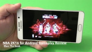 getlinkyoutube.com-NBA 2K16 for Android Gameplay Review