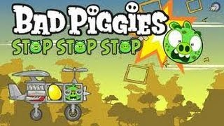 getlinkyoutube.com-Bad Piggies Stop Stop Stop - Bad Piggies Game Remake