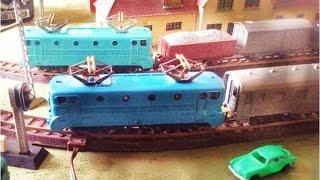 getlinkyoutube.com-Nostalgie : Les Trains Miniatures de PAPY : La BB 9004 JOUEF de 1955