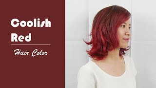 Coolish Red - Hair Color(Hoyu Professtional)